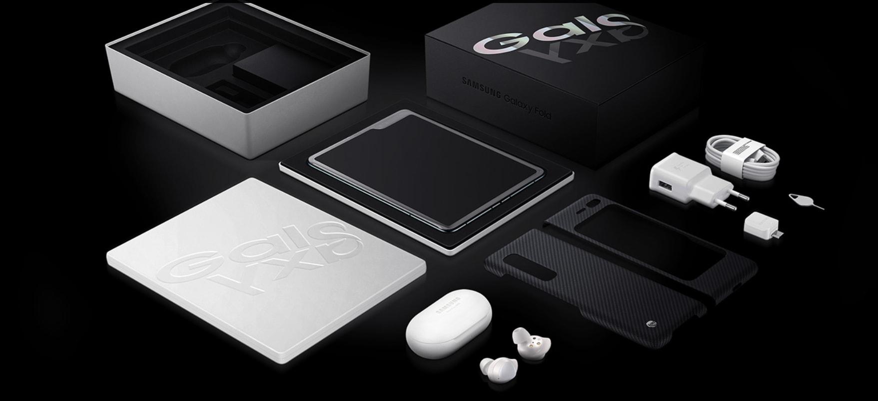 Samsung Fold Unbox