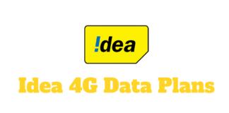 Idea 4G Data Plans