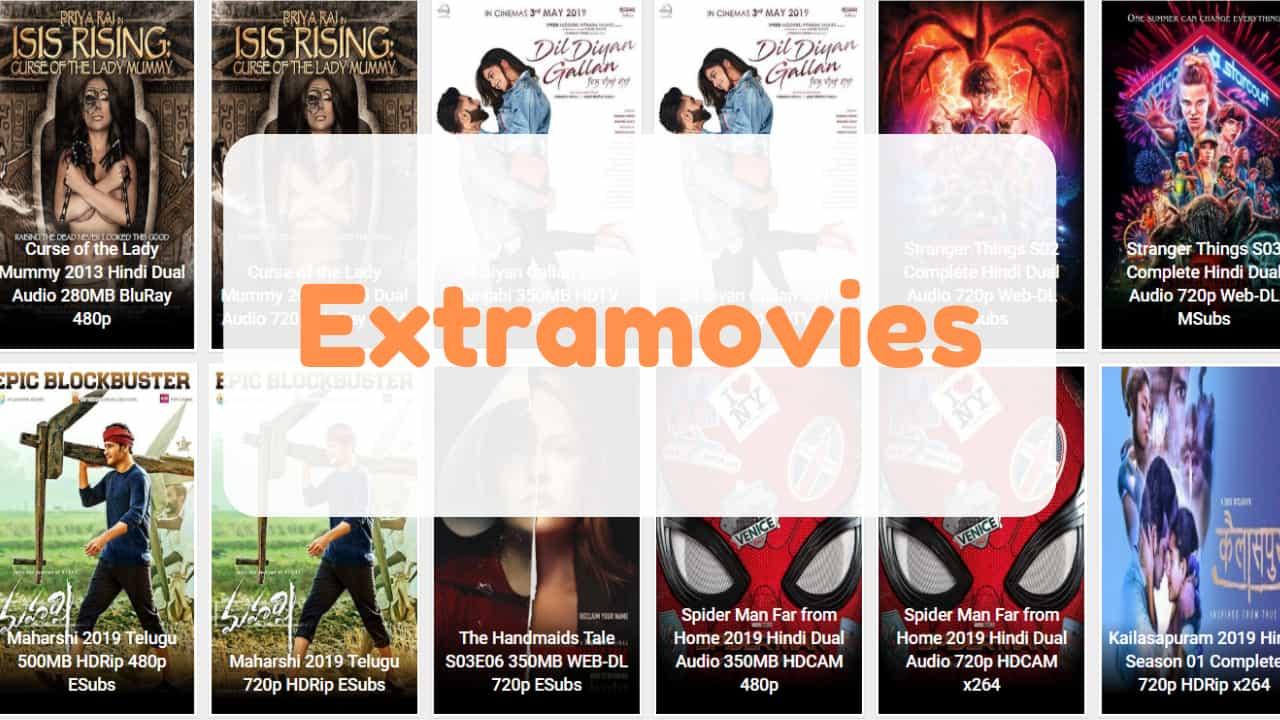 Extramovies 2019 - Download Hindi Dubbed Hollywood Movies