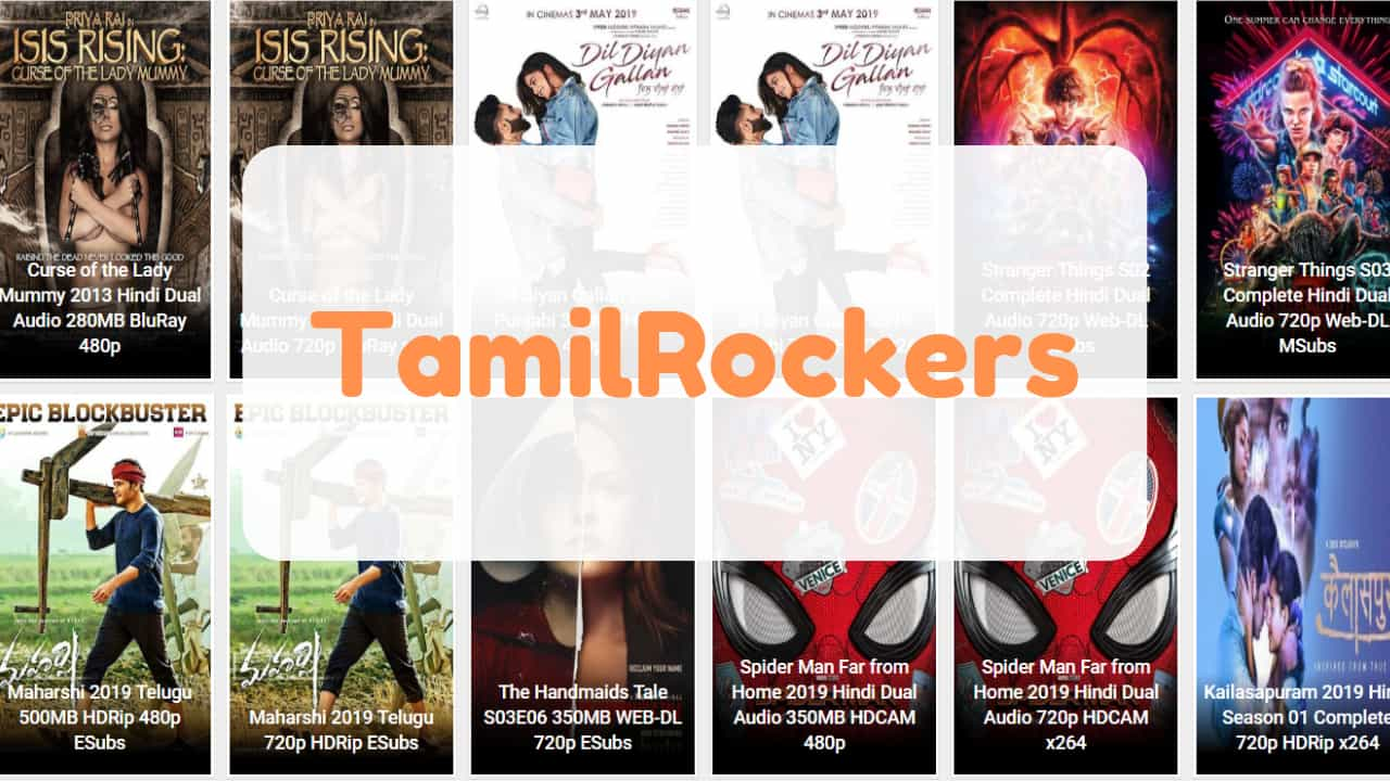 TamilRockers – Download Latest Tamil, Telugu, Hindi Dubbed