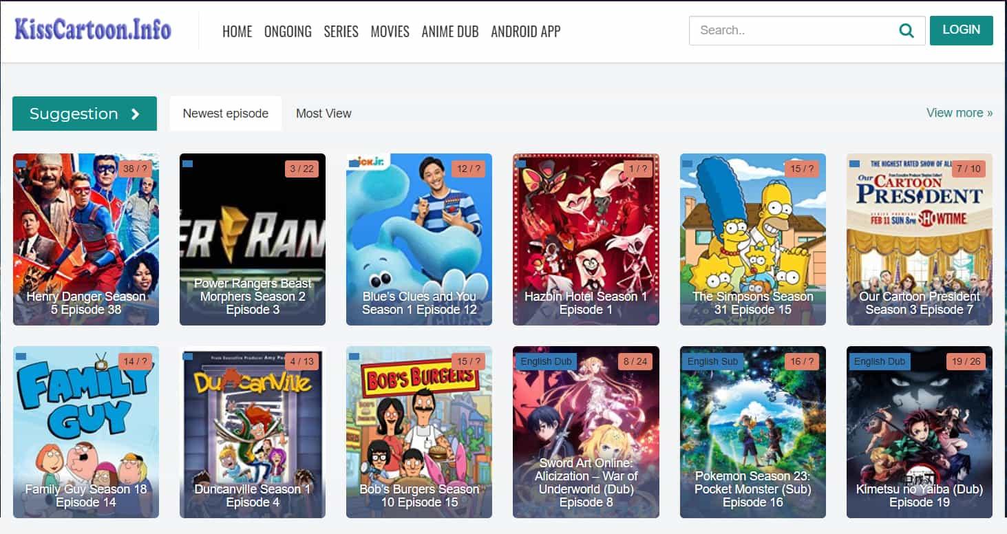 Kisscartoon Watch Cartoon Animation Movies On Kisscartoon Website